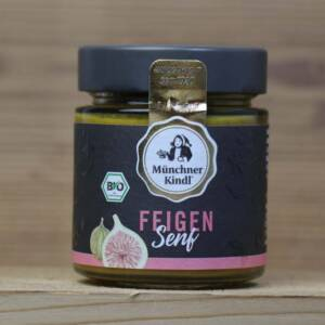 Münchner Kindl, Bio Feigen Senf, 125ml