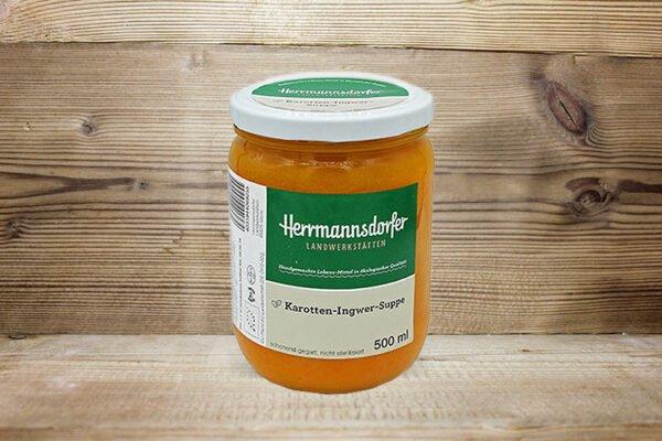 Bio Karotten-Ingwer Suppe_Herrmannsdorfer Landwerkstätten