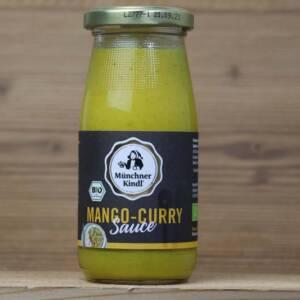 Münchner Kindl, Bio Mango-Curry Sauce, 250ml