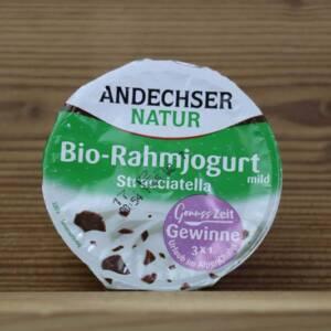 Andechser Natur, Bio-Rahmjoghurt mild Stracciatella 10 % Fett, 150 g