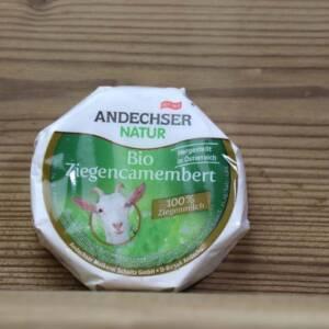 Andechser Natur, Bio-Ziegencamembert, 100 g