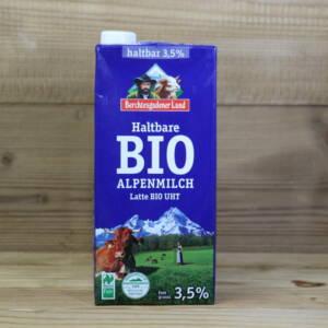 Haltbare Bio-Alpenmilch, 3,5%, 1l