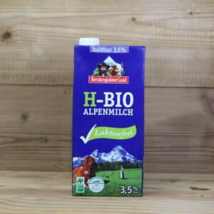Haltbare Bio-Alpenmilch, 3,5%, laktosefrei, 1l