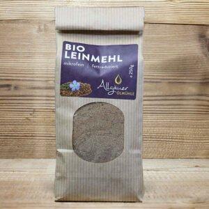 Bio Leinmehl_Allgäuer Ölmühle