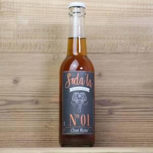 Soda'la, Bio Chai Kola, 0,33l