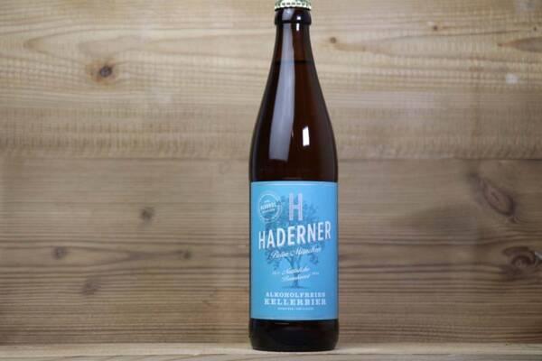 Haderner Bräu, Haderner Kellerbier Alkoholfrei Bio Flasche (EINZELN)