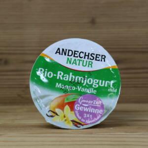 Bio-Rahmjoghurt mild Mango-Vanille 10 % Fett 150 g