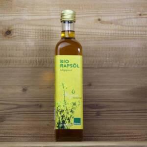 Allgäuer Ölmühle, Bio Rapsöl, 500ml