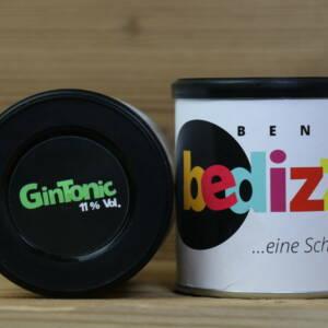 Gin Tonic Gummibärchen, 150g, 11% vol.