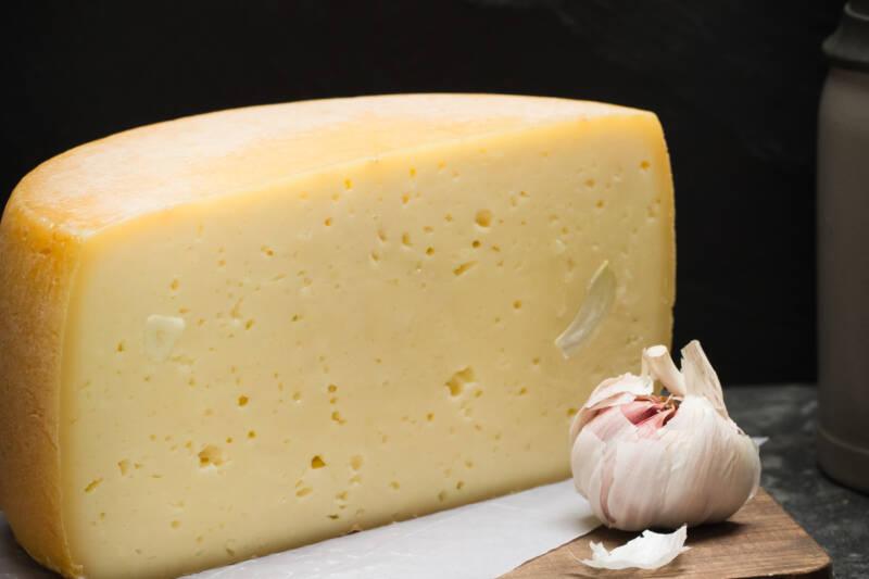 Knoblauch Käse