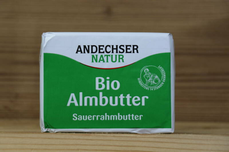 Bio-Almbutter, 250 g
