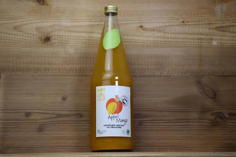 Natürlich Saft, Bio Apfel Mango Saft, 1l