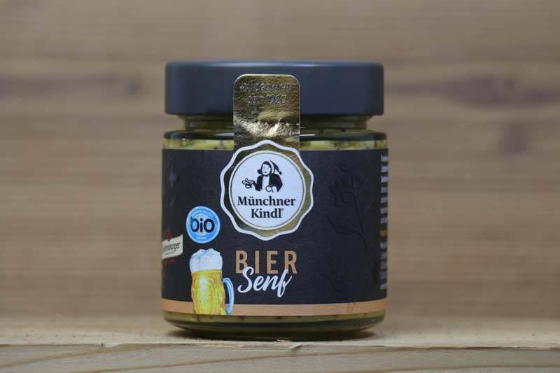 Münchner Kindl, Bio Bier Senf, 125ml