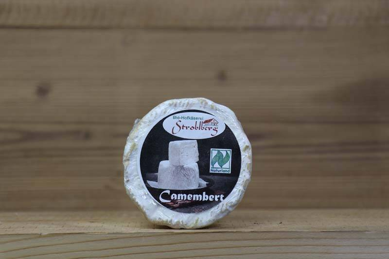 Stroblberg Bio-Hofkäserei, Bio Camembert, 150g