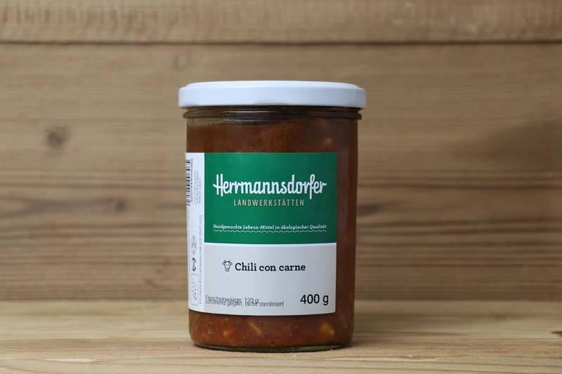 Herrmannsdorfer Landwerkstätten, Bio Chili con carne, 400g