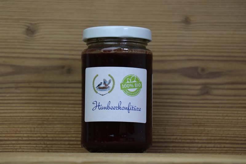Finkennest, Bio Himbeer-Konfitüre, 200ml
