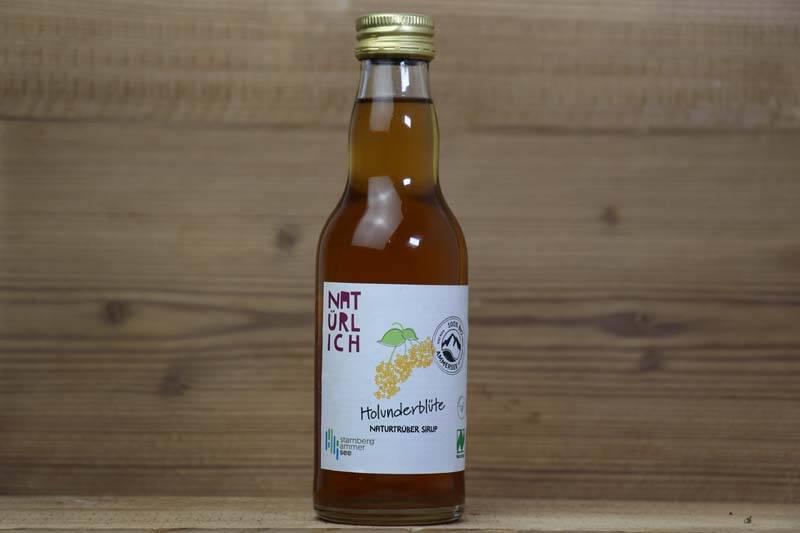 Natürlich Saft, Bio Holunderblüten-Sirup, 0,2l