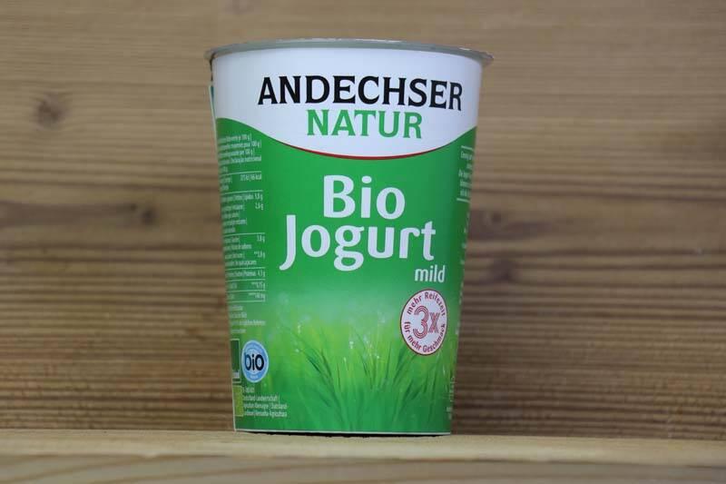 Andechser Natur, Bio Jogurt mild 3.8% Fett, 500g