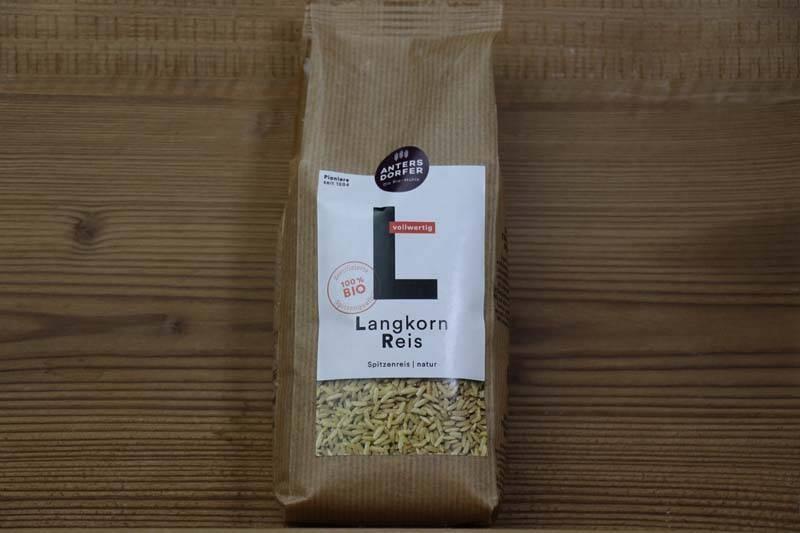 Antersdorfer, Bio Langkorn Reis natur, 500g