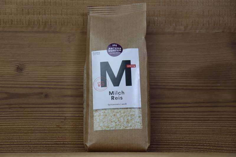 Antersdorfer, Bio Milch Reis weiss, 500g