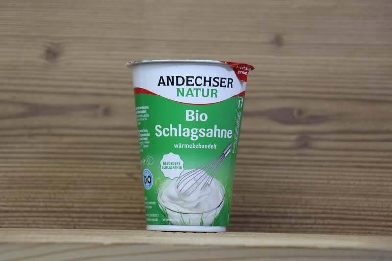 Andechser Natur, Bio Schlagsahne, 200 g