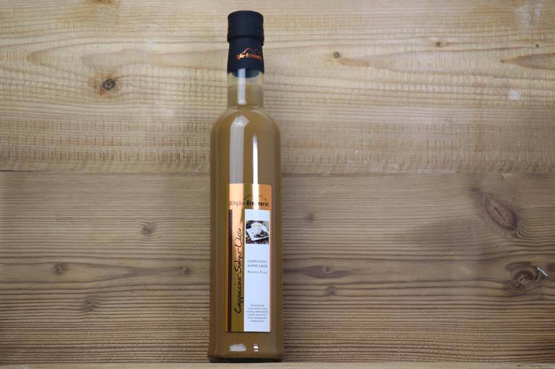 Allgäu-Brennerei, Cappuccino-Sahne-Likör, 0,5l , 17,00 % Vol.