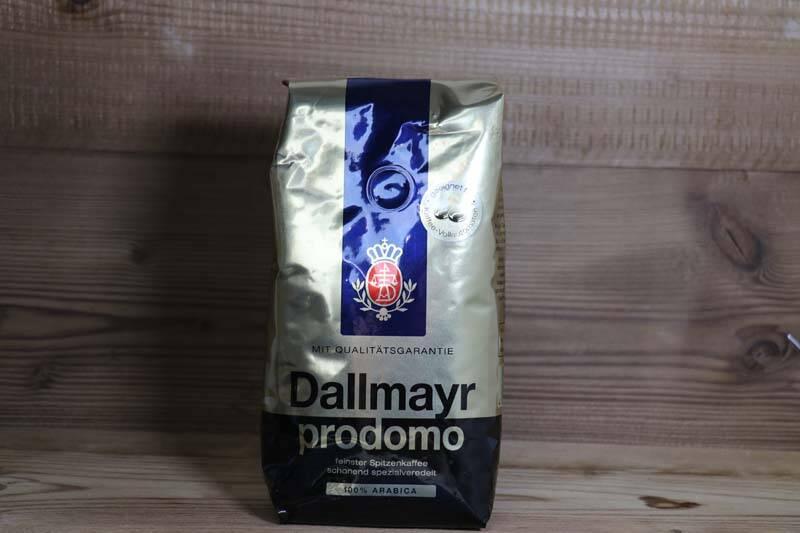 Dallmayr Prodomo, ganze Bohnen