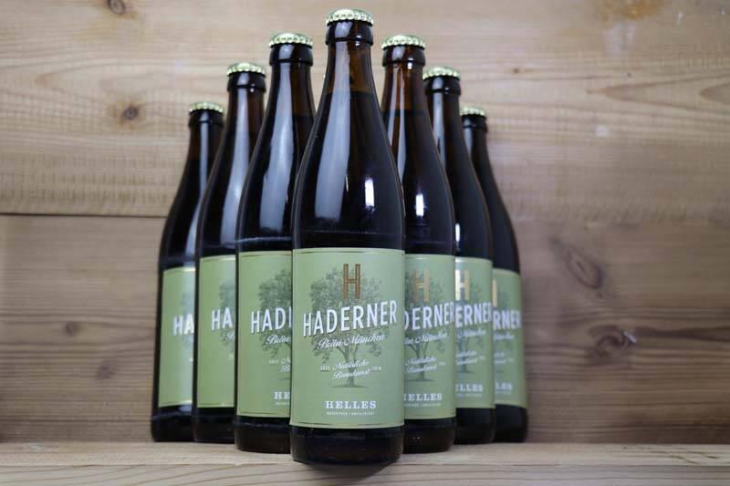 Haderner Bräu, Haderner Hell Bio (10x 0,5l)