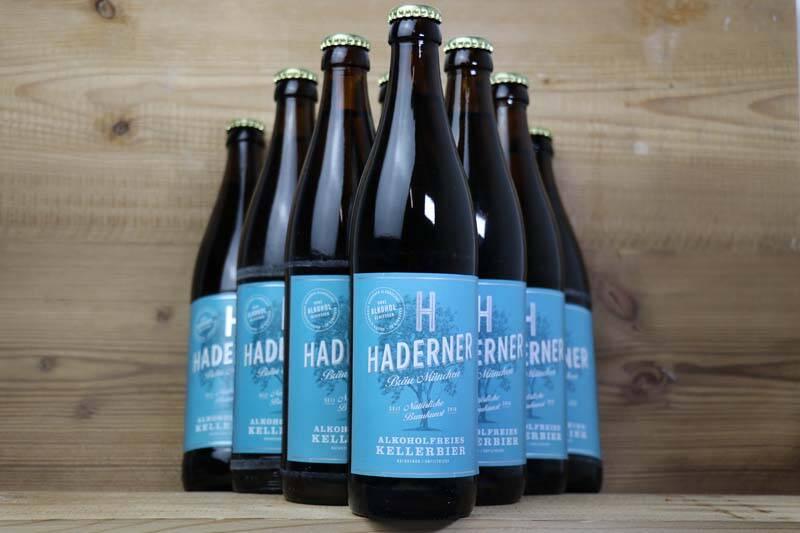 Haderner Bräu, Haderner Kellerbier Alkoholfrei Bio (10 x 0,5 l)