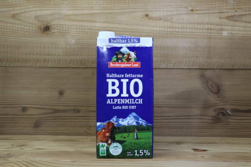 Haltbare Bio-Alpenmilch, 1,5%, 1l