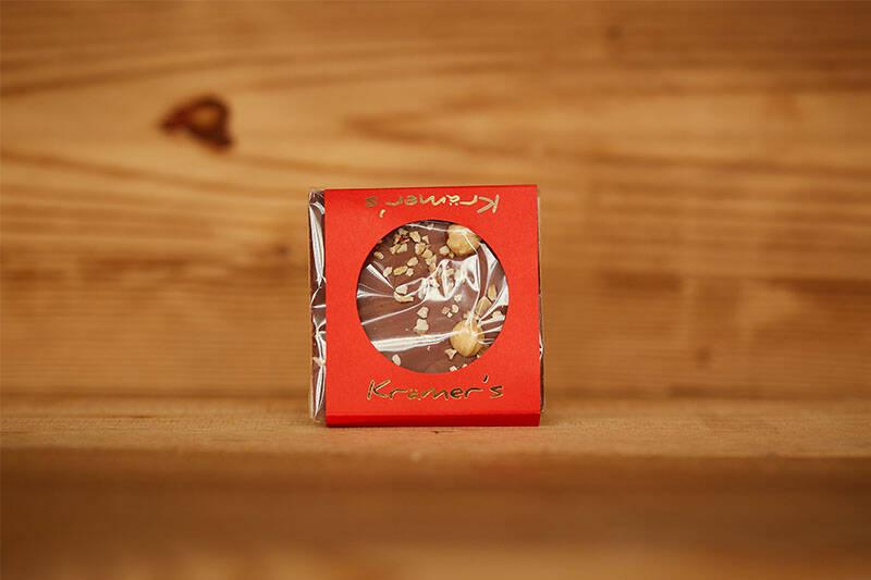 Vollmichschokolade Haselnuss