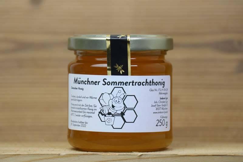 Imkerei Lye, Münchner Honig, 250g