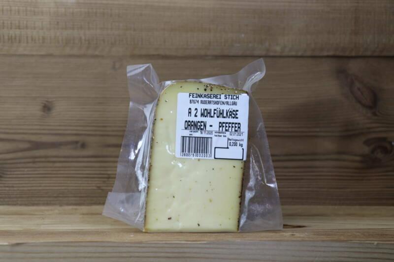 Orangen-Pfeffer Käse, 200g