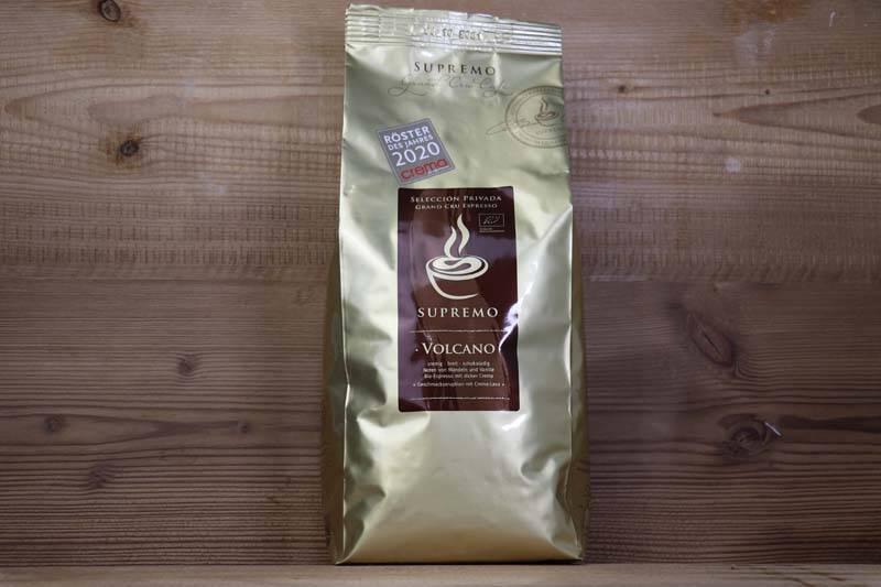 Supremo Kaffee - Volcano Bio Espresso 1kg