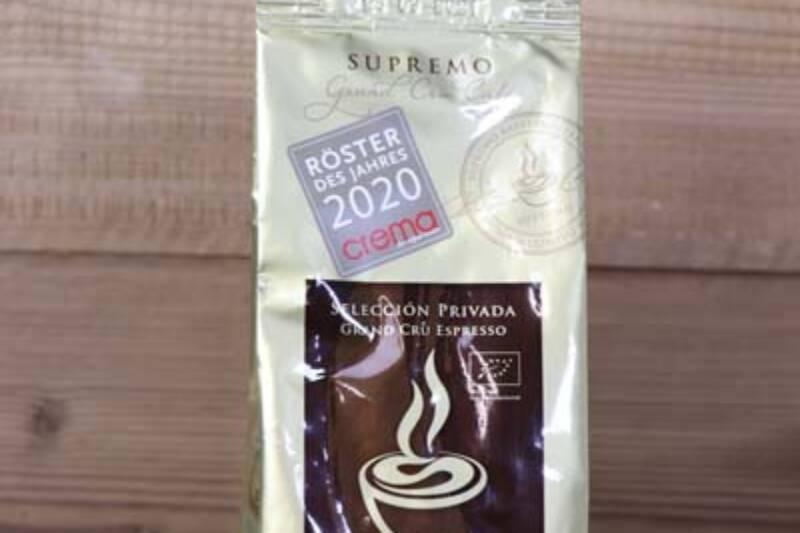 Supremo Volcano Bio Espresso 250g