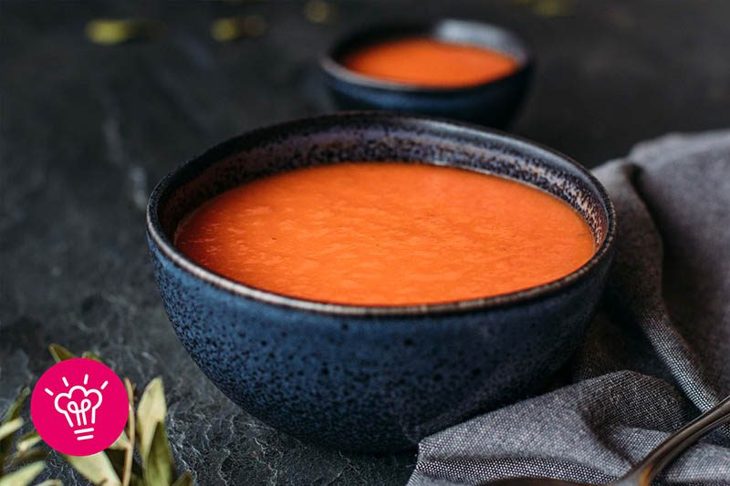 Paprika Fenchel Suppe